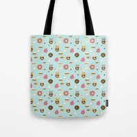 Donut Cat Tote Bag