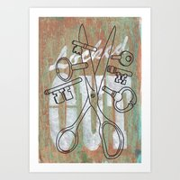 Locked Out? Get Some Mor… Art Print
