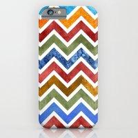 Chevrons in Color iPhone 6 Slim Case