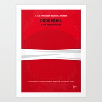 No617 My Dodgeball Minim… Art Print