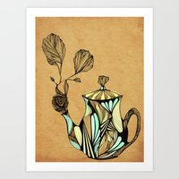 Flower Pot Art Print