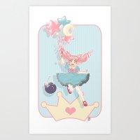 Small Lady Art Print