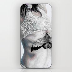 The moth has found a light iPhone & iPod Skin