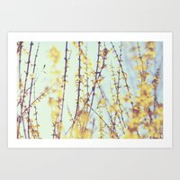 Yellow Daydreams Art Print