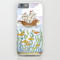 Ship And Sea iPhone 6 Slim Case
