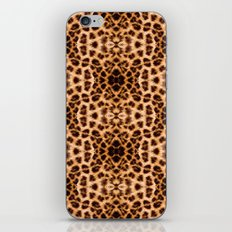 Leopard Print Kaleidoscope Abstract iPhone & iPod Skin