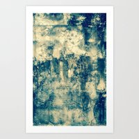 Abstract Grunge Art Print