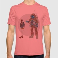 They Met Mens Fitted Tee Pomegranate SMALL