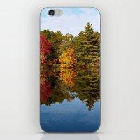 Autumn Reflection iPhone & iPod Skin
