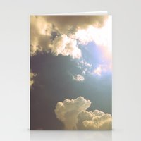 Now That the Rain Is Gone Stationery Cards