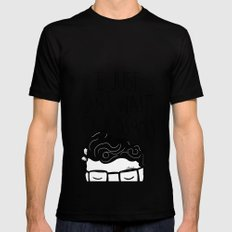 I just can't wait to kiss you ♥ Mens Fitted Tee SMALL Black