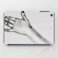 lady's hand iPad Case