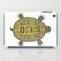 Tiled turtle iPad Case