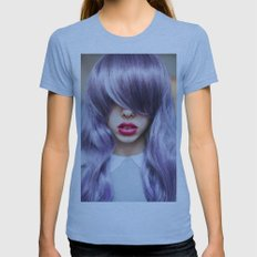 Hidden Womens Fitted Tee Athletic Blue SMALL