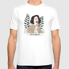 Twin Peaks (David Lynch) Donna Hayward Mens Fitted Tee White SMALL