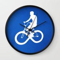 Endless Cycle Wall Clock