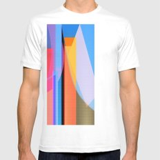 Carousel SMALL White Mens Fitted Tee