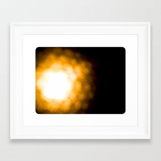 Hive Framed Art Print