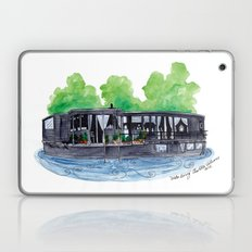 Water Living in Amsterdam by Charlotte Vallance Laptop & iPad Skin