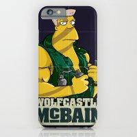 iPhone & iPod Case featuring McBain by BinaryGod.com