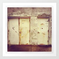 Art Print featuring doors by sandra lee russell