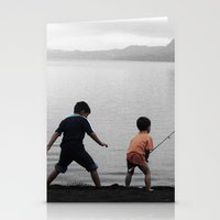 On The Lake Stationery Cards