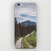 Greetings from the trail iPhone & iPod Skin