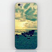 Let's Sit Here All Day iPhone & iPod Skin