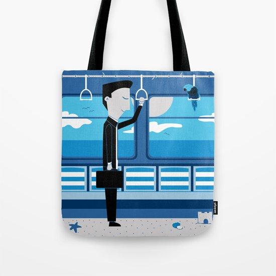 Dreaming of Holidays Tote Bag
