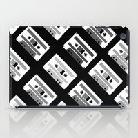 Black And White Tapes 45 iPad Case