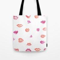 Kiss! Kiss! Tote Bag