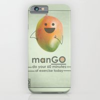 iPhone & iPod Case featuring manGO by JosephMills