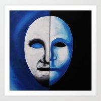 The Moon Man Art Print