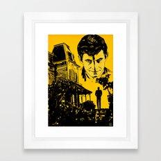 Norman Bates Psycho Framed Art Print