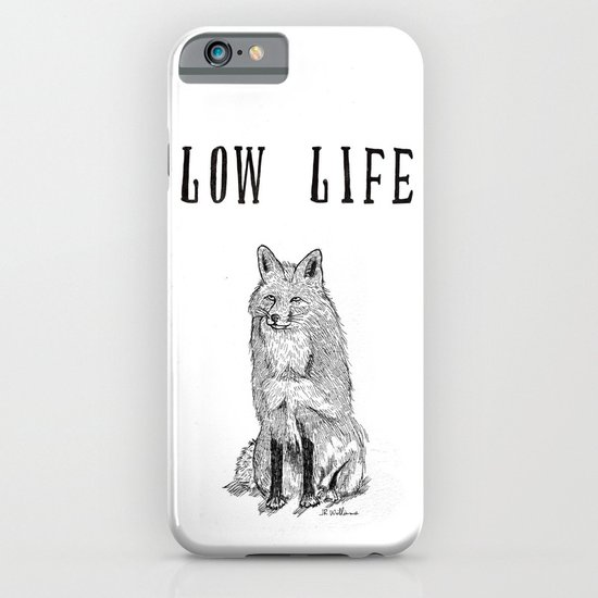 """""""Low Life"""" part 2 iPhone & iPod Case"""