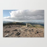 Lake District England Canvas Print