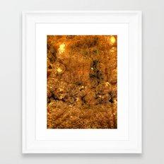 light Bubbles Framed Art Print