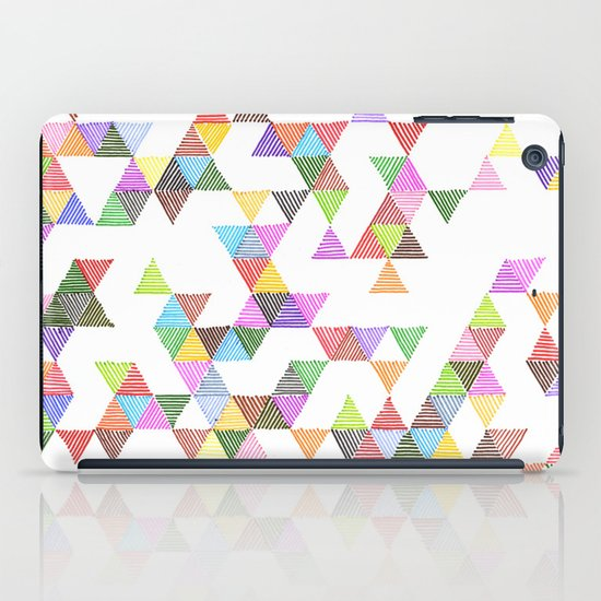 Technicolour Raindrops iPad Case