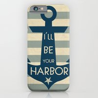 iPhone & iPod Case featuring Harbor by Grace Kelly McConnell