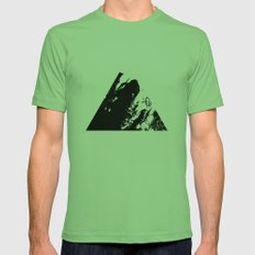 Why... Mens Fitted Tee Grass SMALL