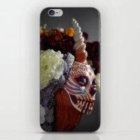 Tiger Blossom Muertita Detail iPhone & iPod Skin