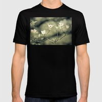 Dogwood Mens Fitted Tee Black SMALL