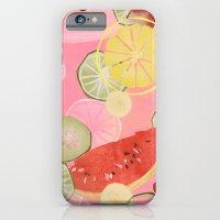 Fruitsalad! Melon, Citru… iPhone 6 Slim Case