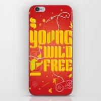YoungWild&Free iPhone & iPod Skin