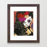 Natural High: Maquillaje… Framed Art Print