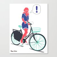 LE COOL GAL Canvas Print