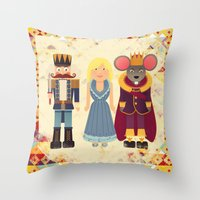 Nutcracker Throw Pillow