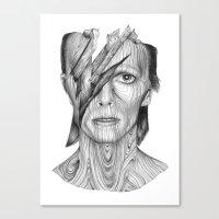 Wood dB Canvas Print