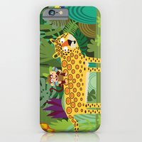 iPhone & iPod Case featuring Jungle by Milanesa
