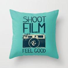 Shoot Film Throw Pillow